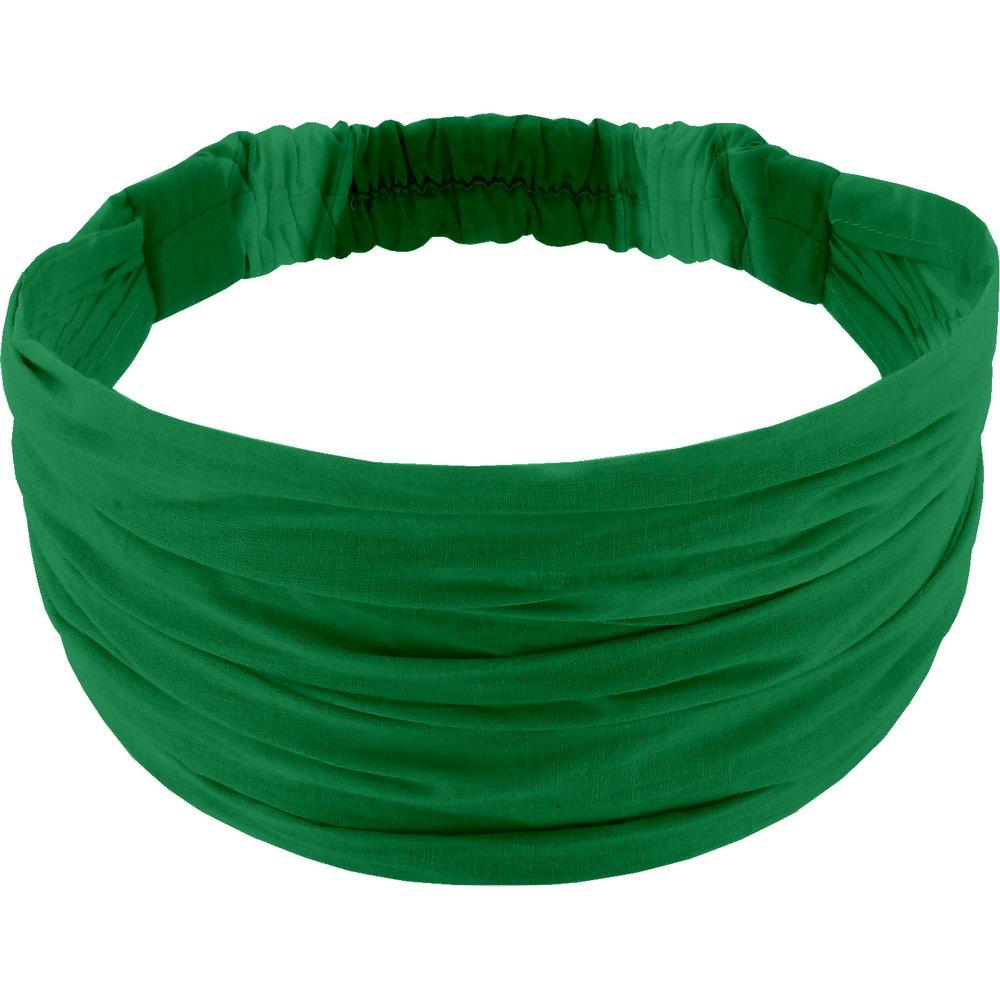 Headscarf headband- child size bright green