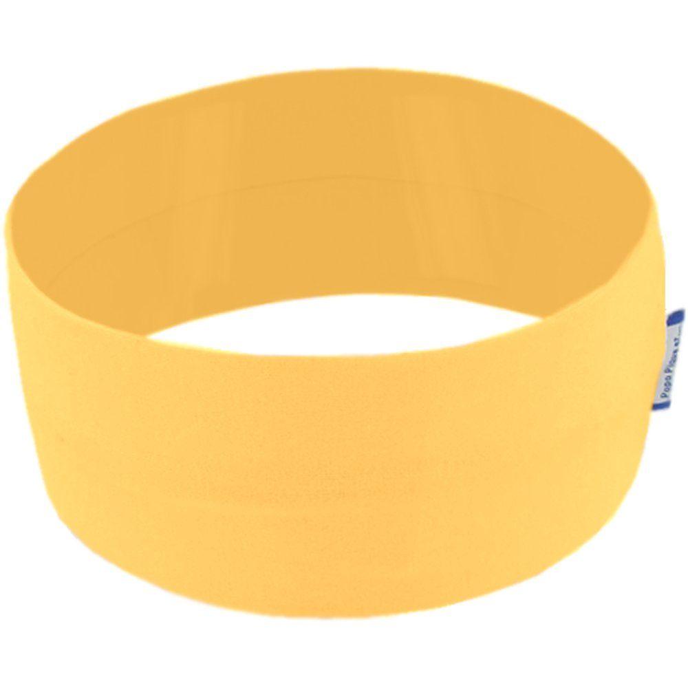 Bandeaux jersey uni jaune