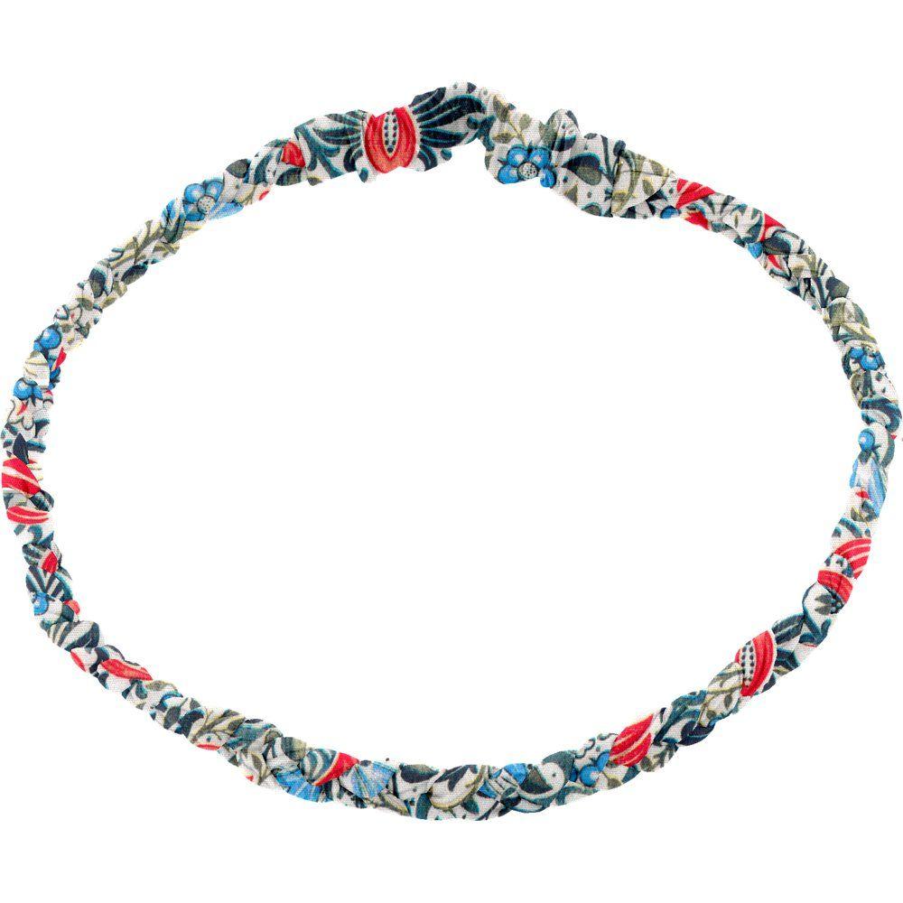 Plait hairband-children size azulejos