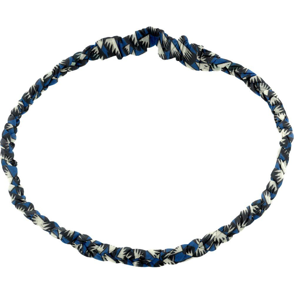 Plait hairband-children size parts blue night
