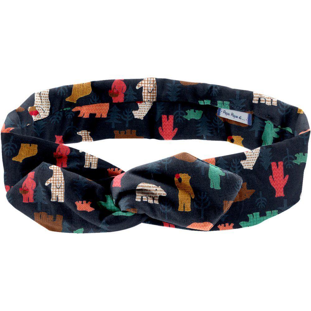 Wire headband retro grizzly