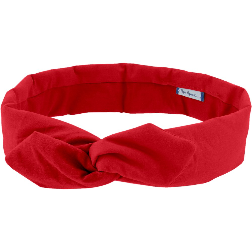 Wire headband retro red