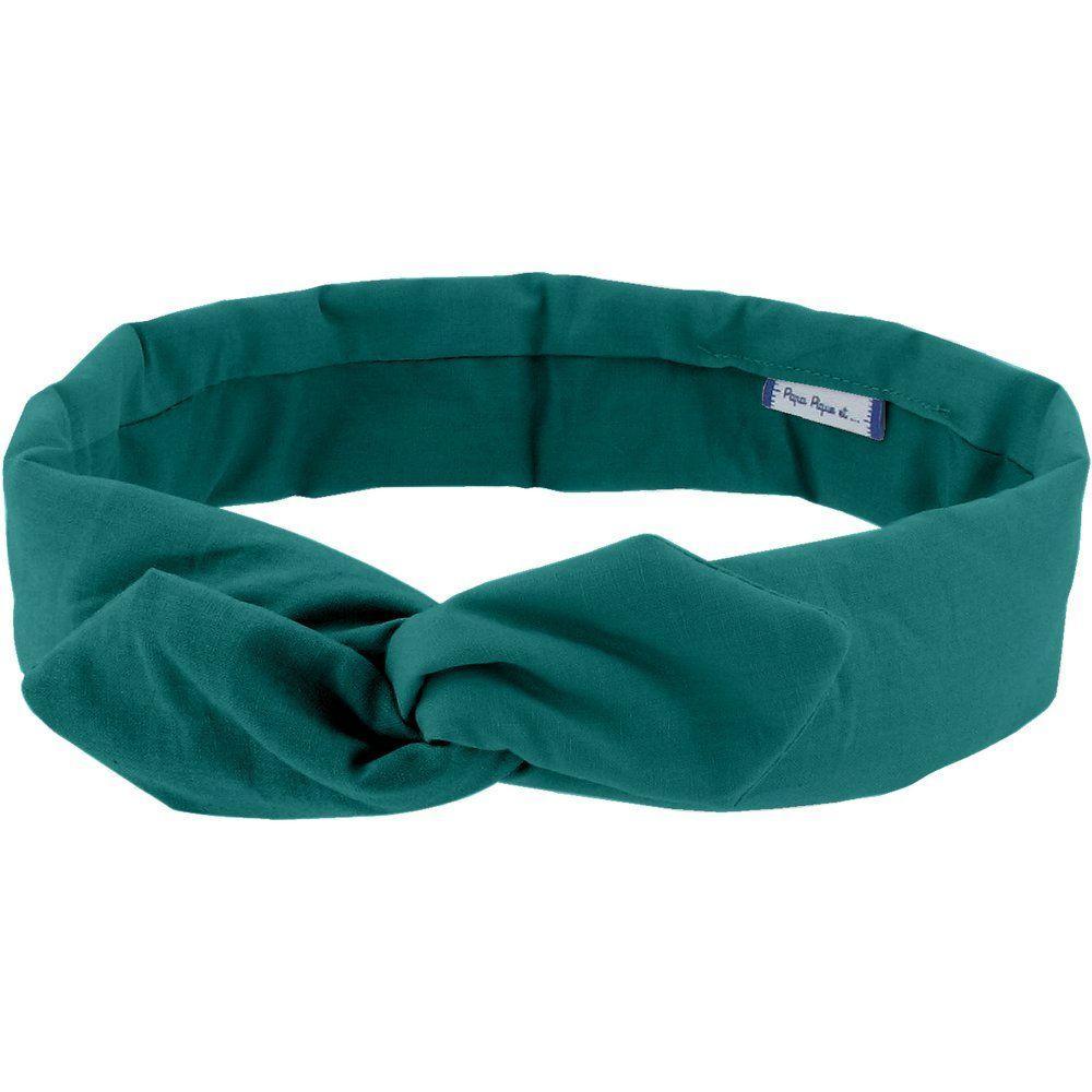 Cinta vintage verde esmeralda