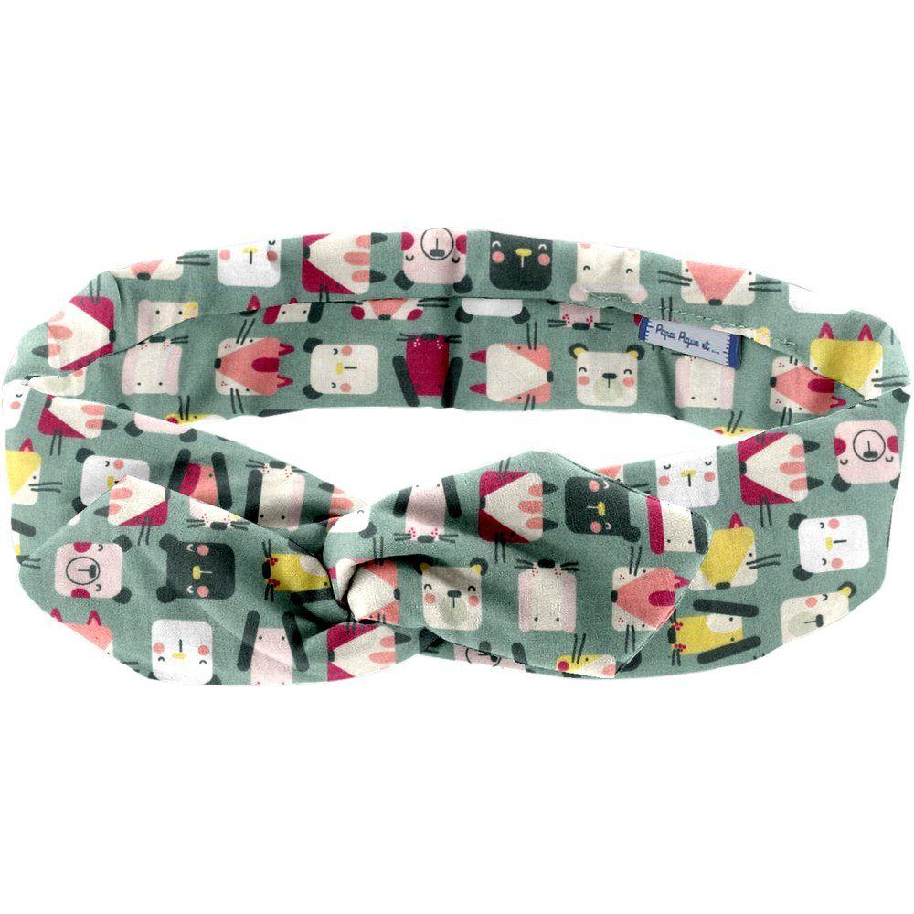 Wire headband retro animals cube