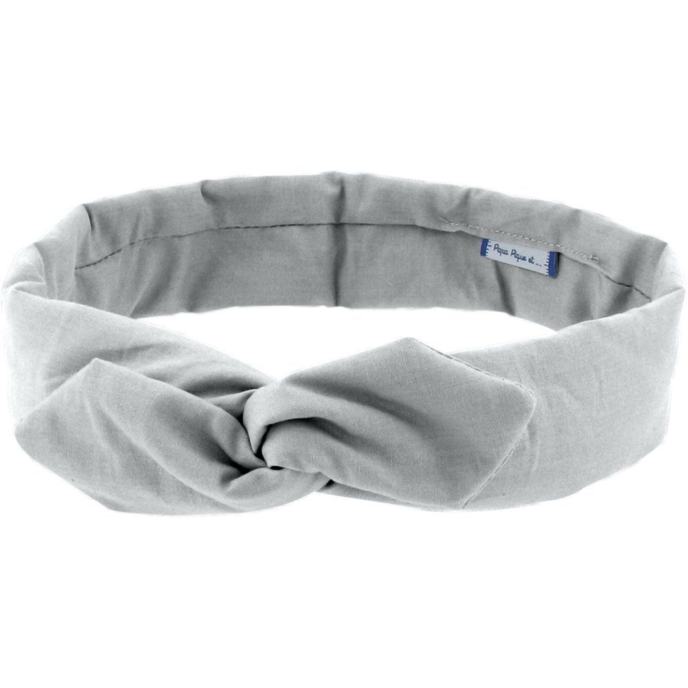 Wire headband retro grey