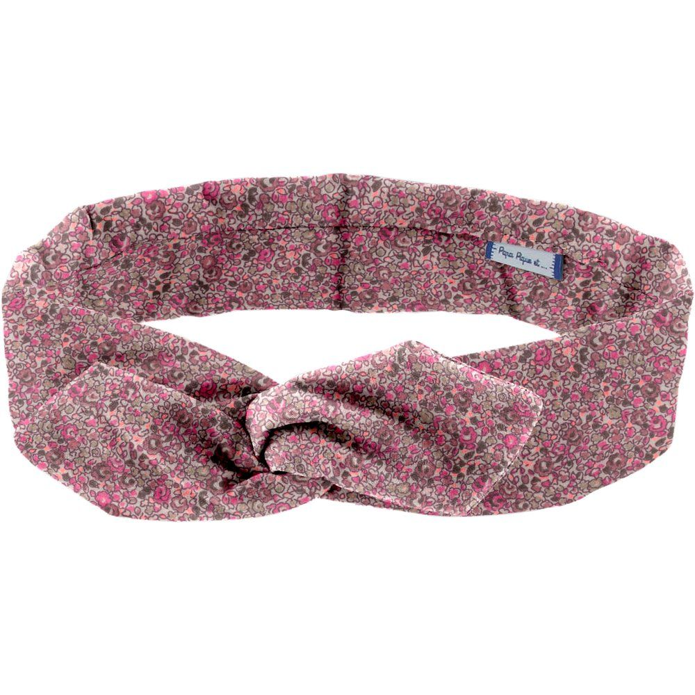Wire headband retro plum lichen