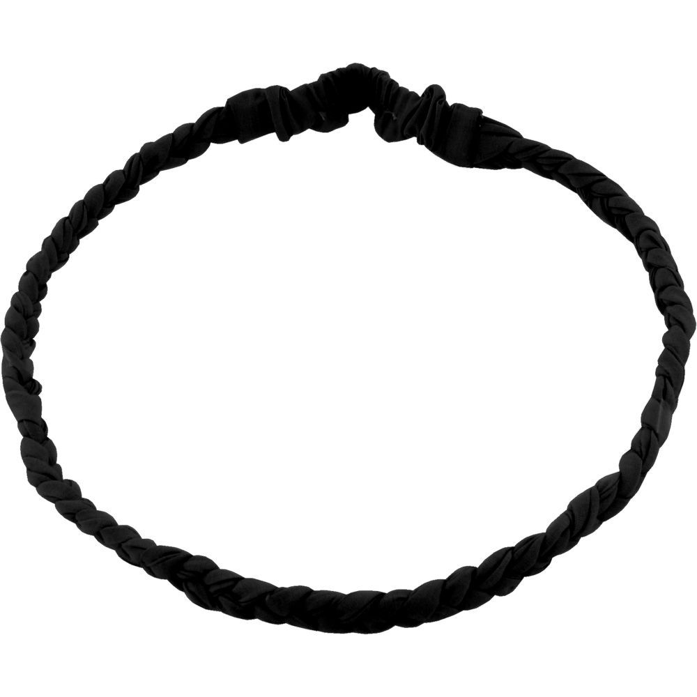 Plait hairband-adult size black