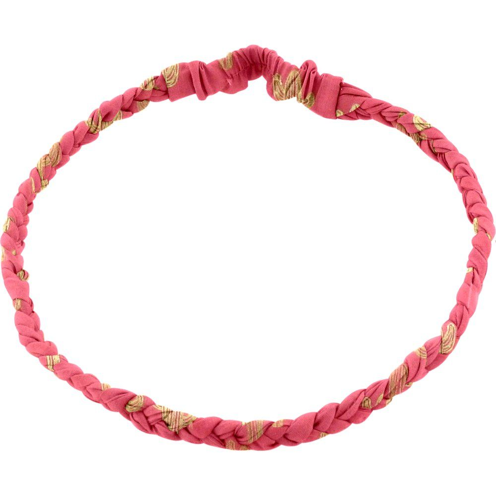 Plait hairband-children size gold cactus