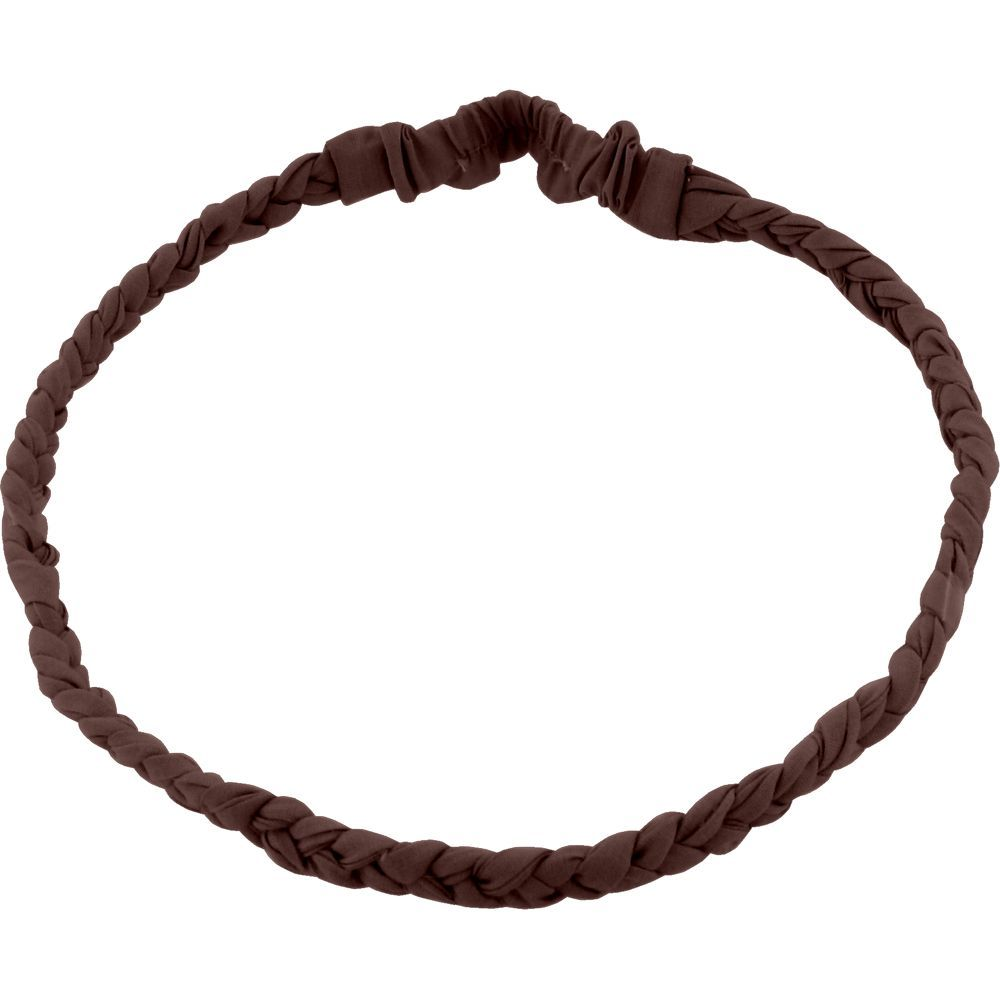 Plait hairband-children size brown