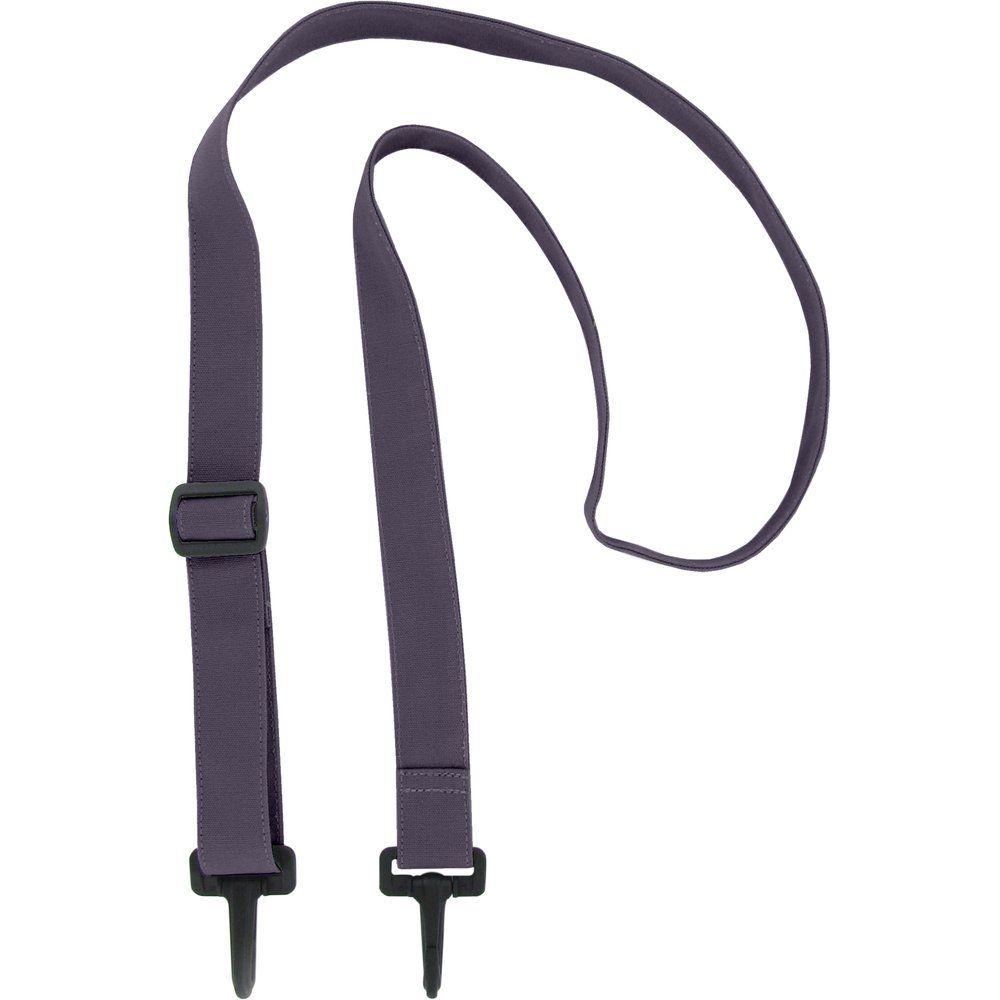 Shoulder strip of bag plum