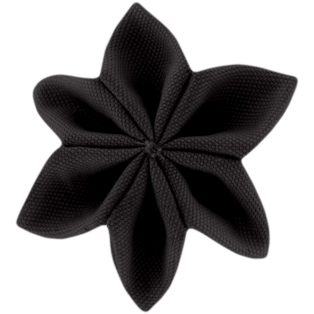 Star flower 4 hairslide black