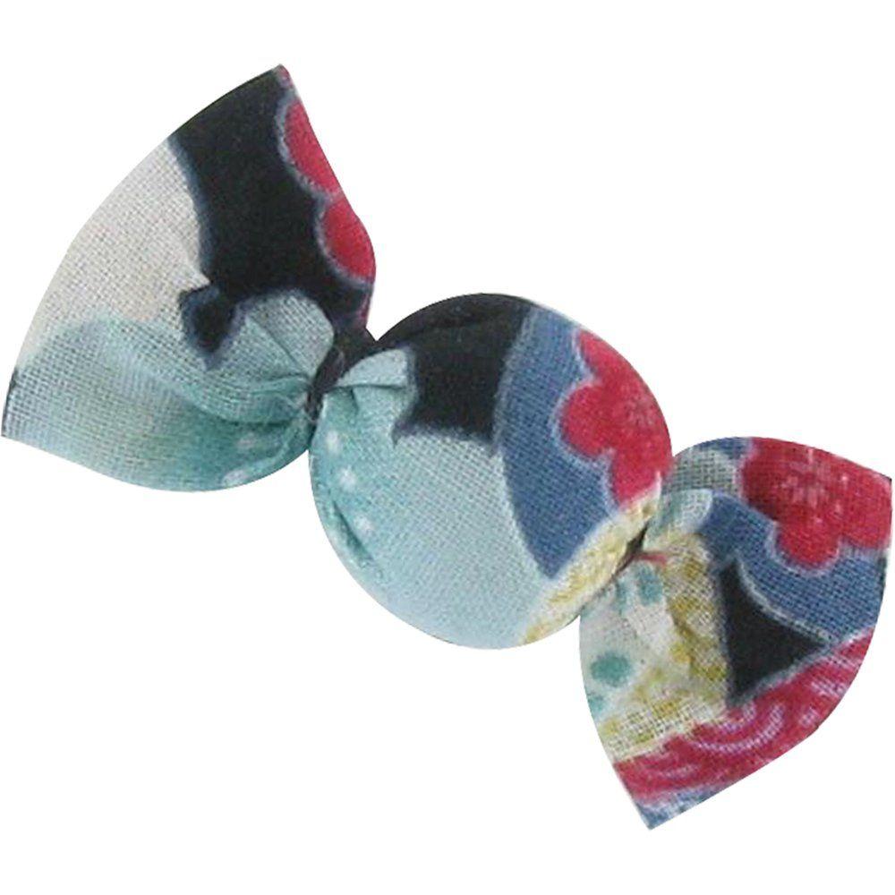 Petite barrette mini bonbon fleurs du mékong