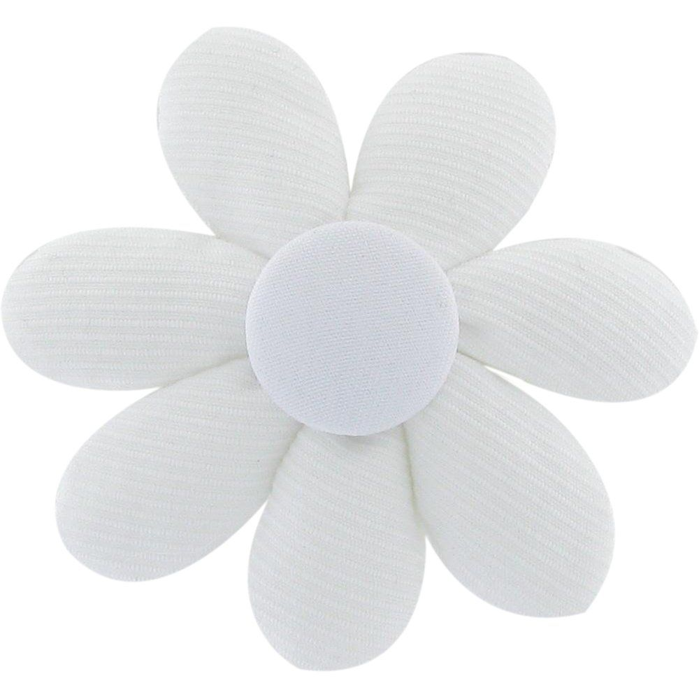 Barrette fleur marguerite blanc