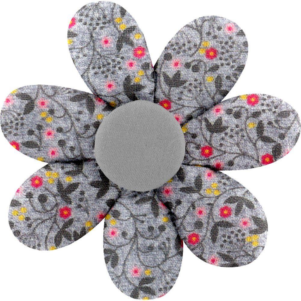 Barrette fleur marguerite liane fleurie