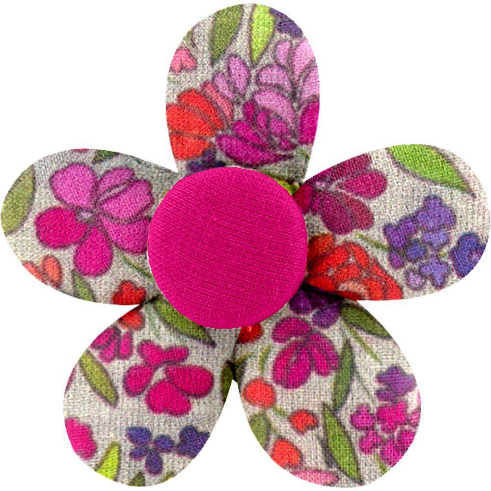 Pasador mini flor pradera púrpura
