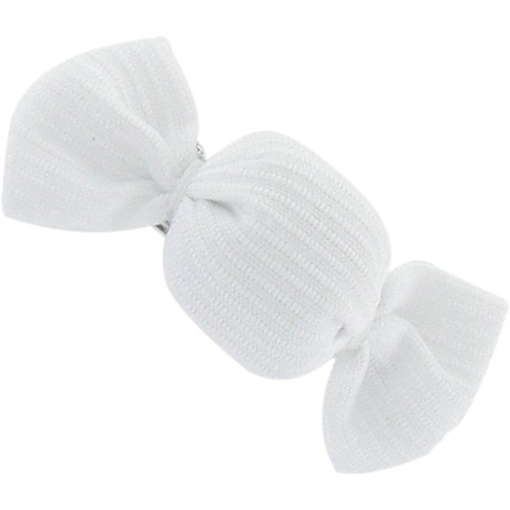 Mini sweet hairslide white
