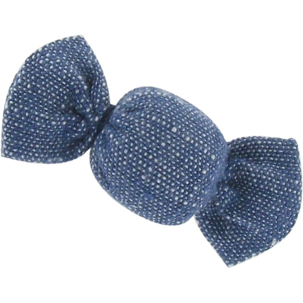 Mini sweet hairslide light denim