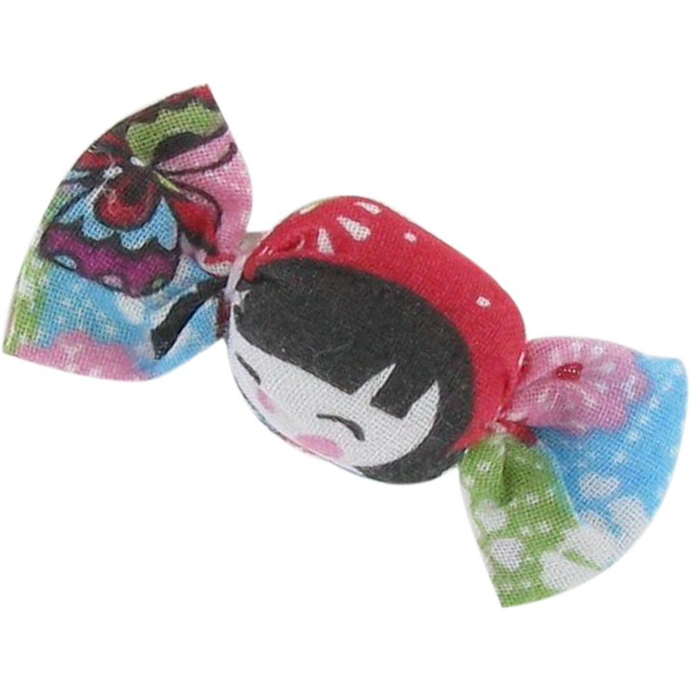 Mini sweet hairslide kokeshis