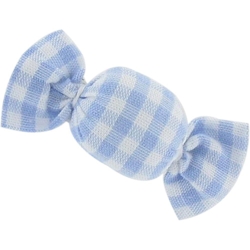 Mini sweet hairslide sky blue gingham