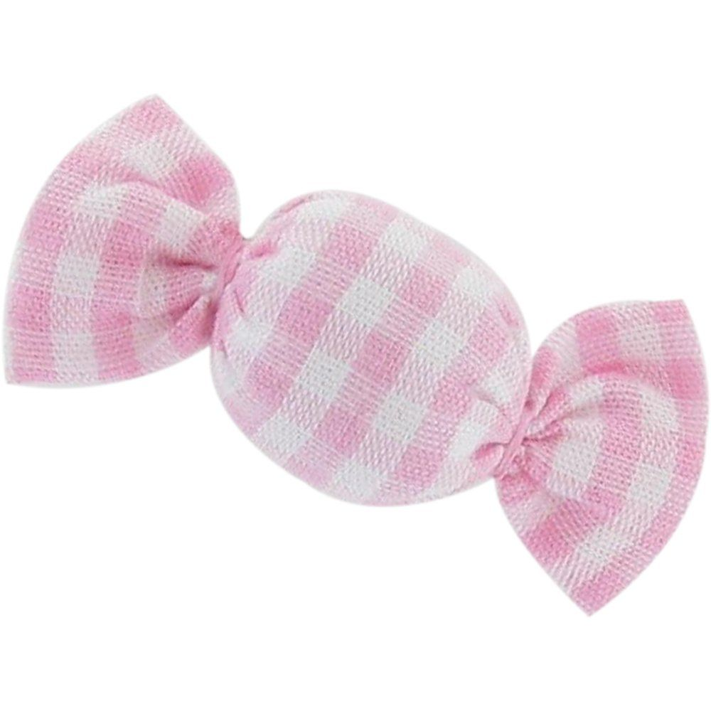 Mini sweet hairslide pink gingham