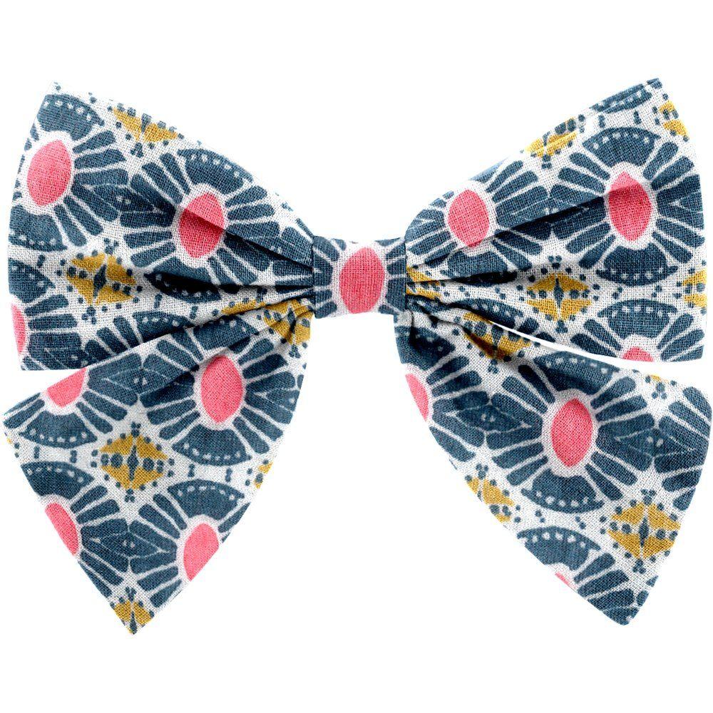 Pasador lazo mariposa sol étnico
