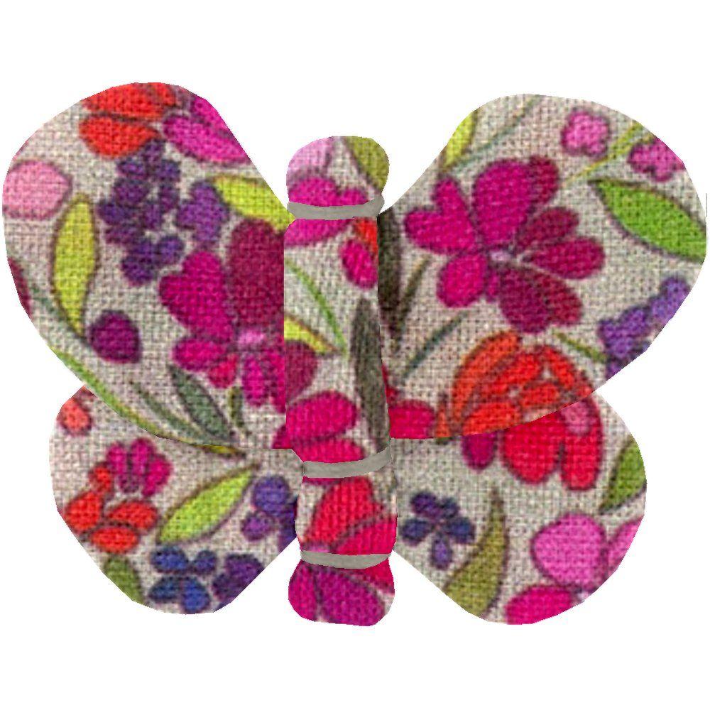 Butterfly hair clip purple meadow