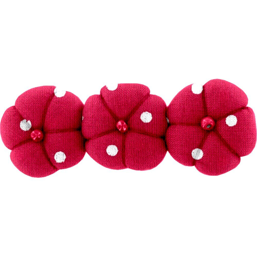 Pumpkin hair slide red spots