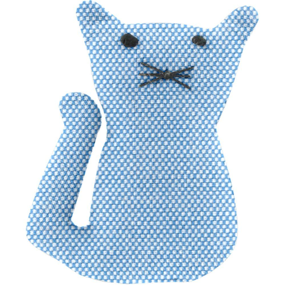 Small cat hair slide oxford blue