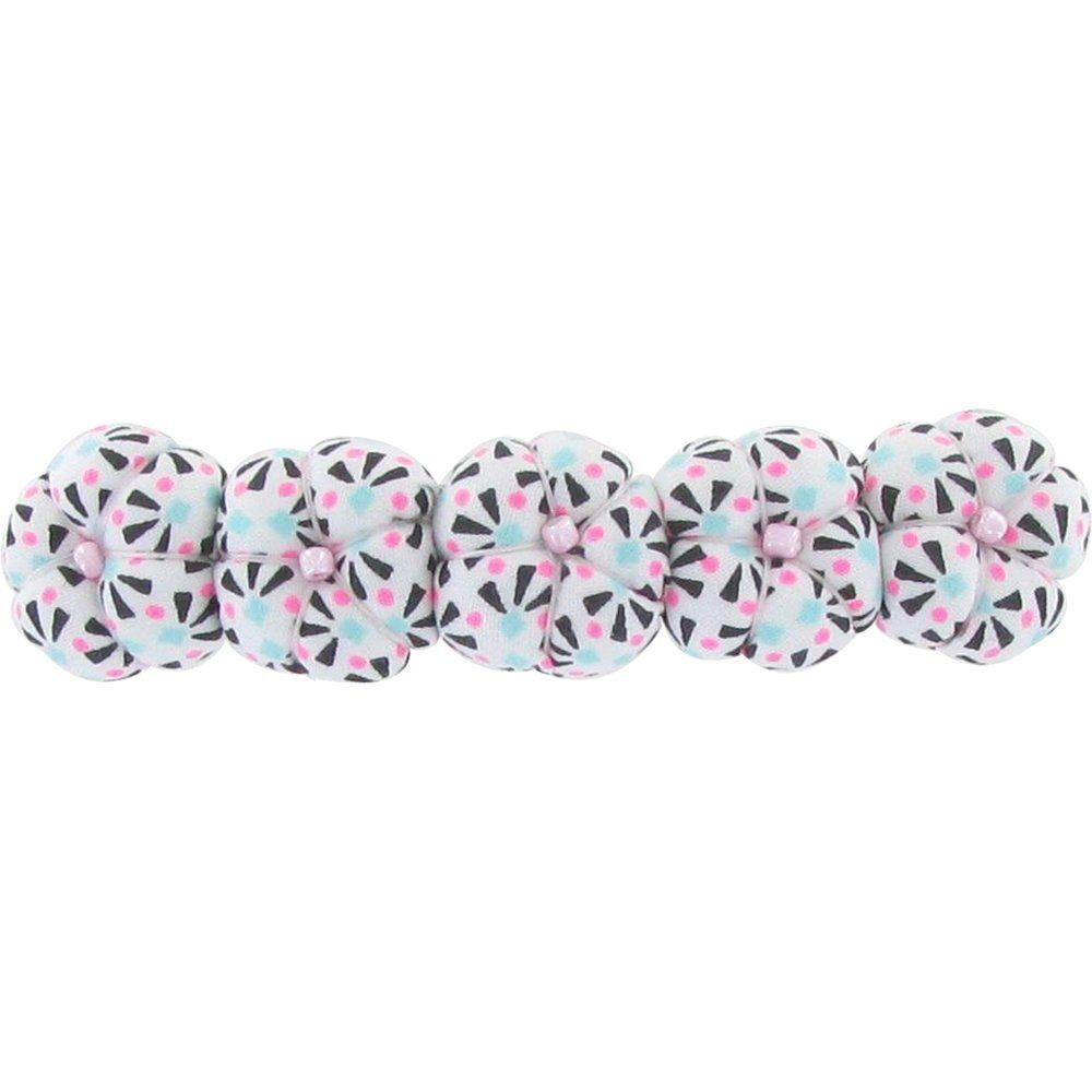 Japan flower hair slide-large size neon shards
