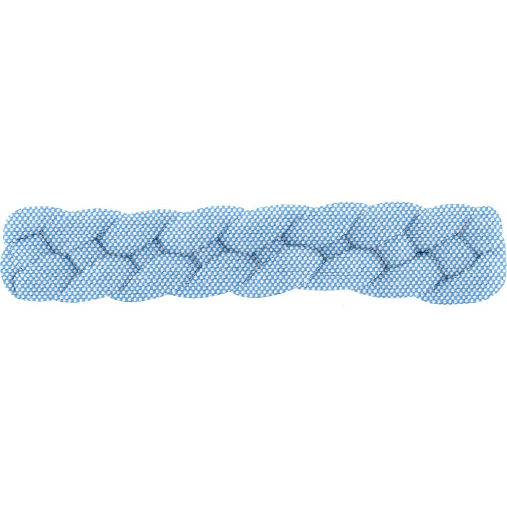 Plait hair slide oxford blue