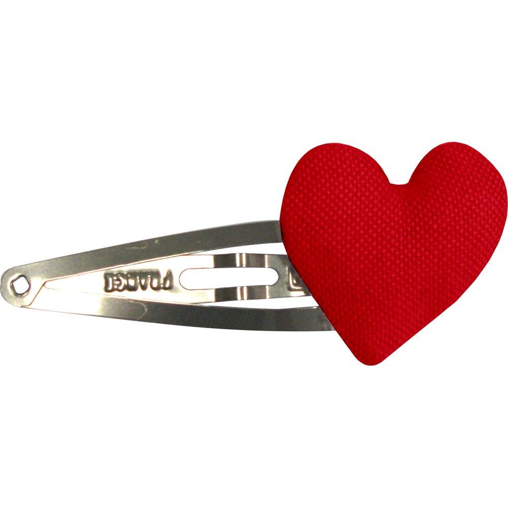 Heart hair-clips