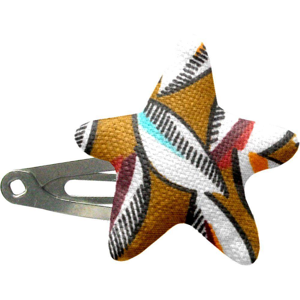 barrette clic-clac étoile cabosses