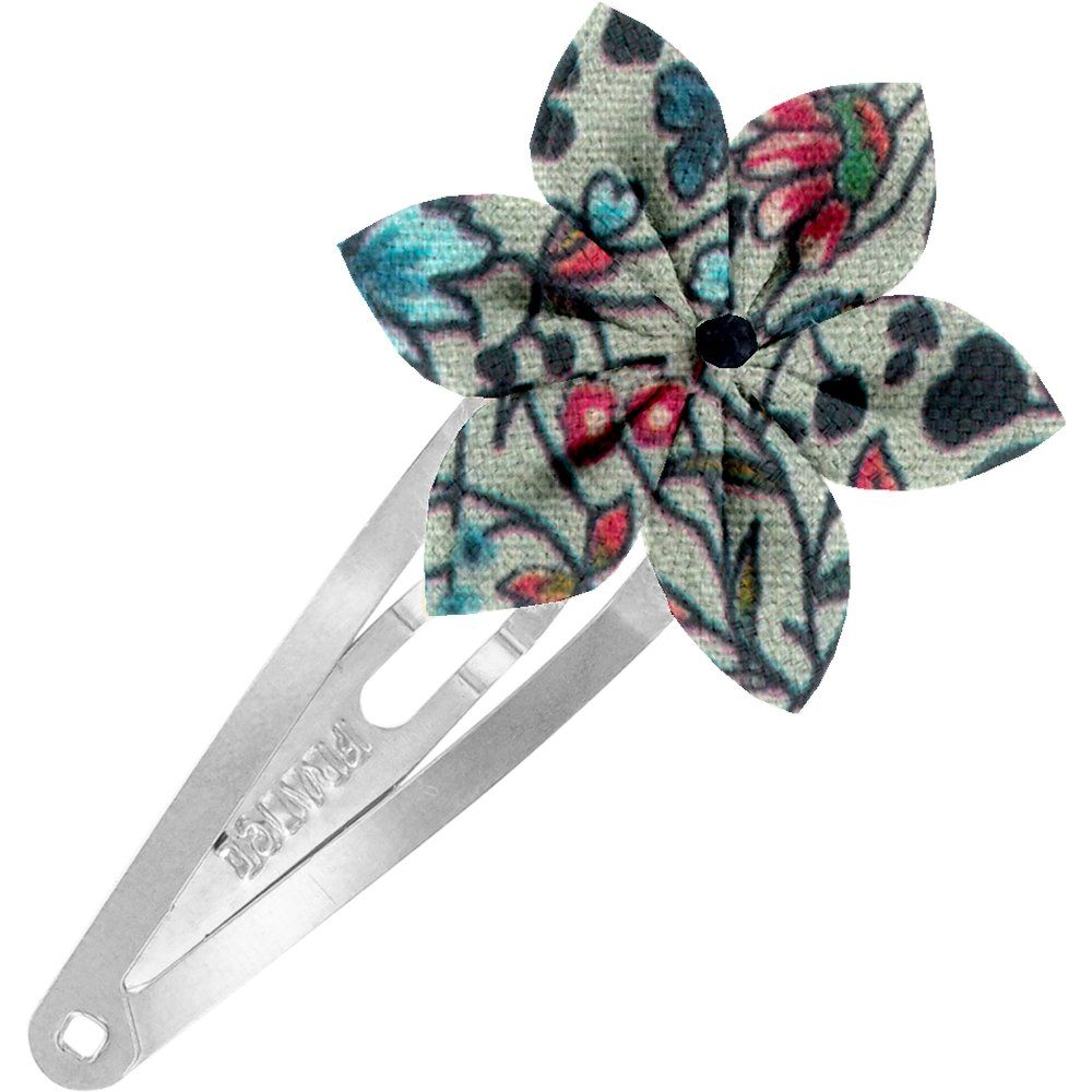 Star flower hairclip flower mentholated