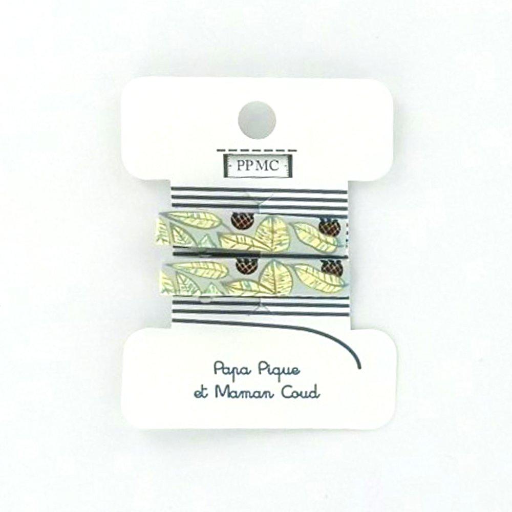 Petite barrette croco cr029