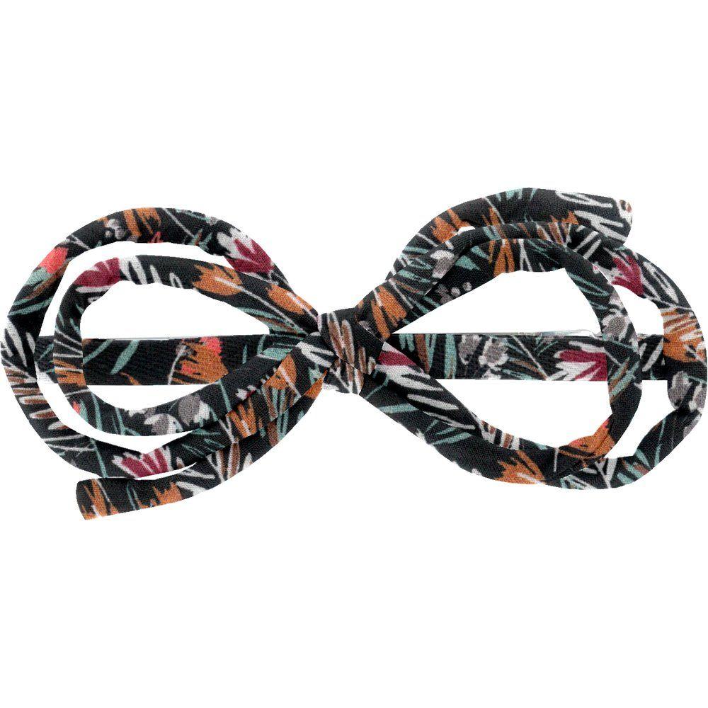 Barrette noeud arabesque  graminée
