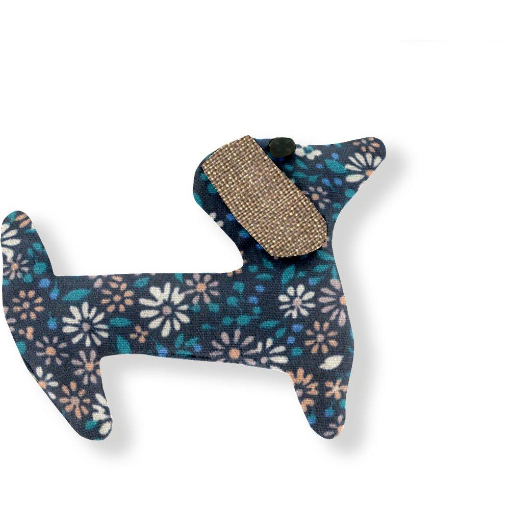 Basset hound hair clip paquerette marine
