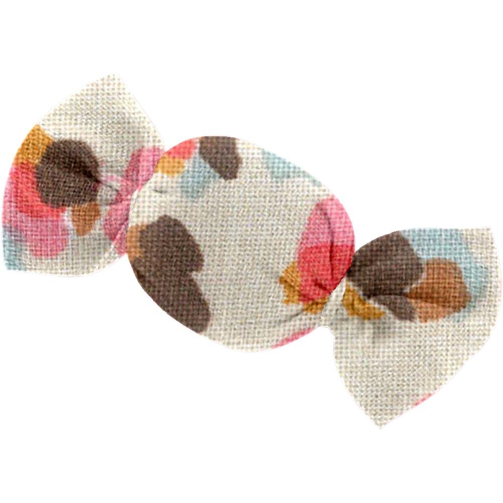 Petite barrette mini bonbon confetti aqua