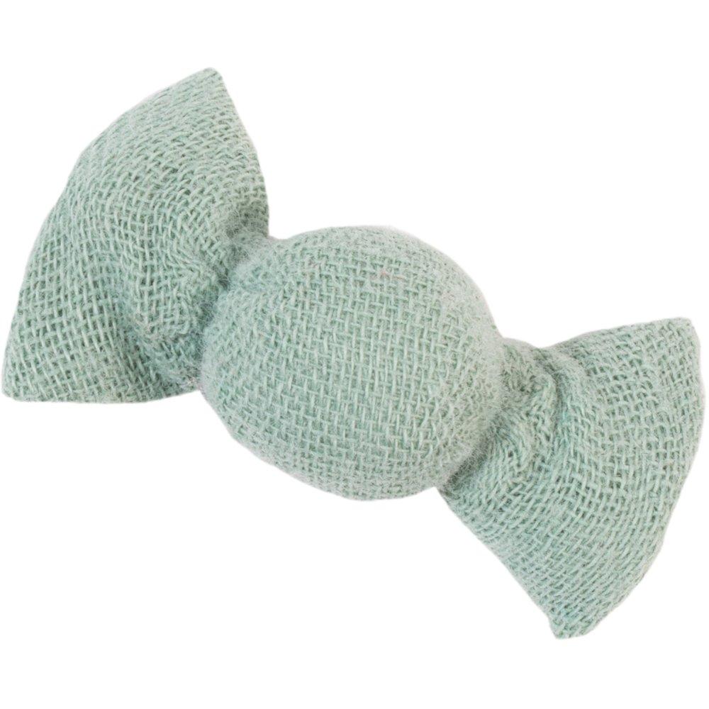 Mini sweet hairslide sage green gauze