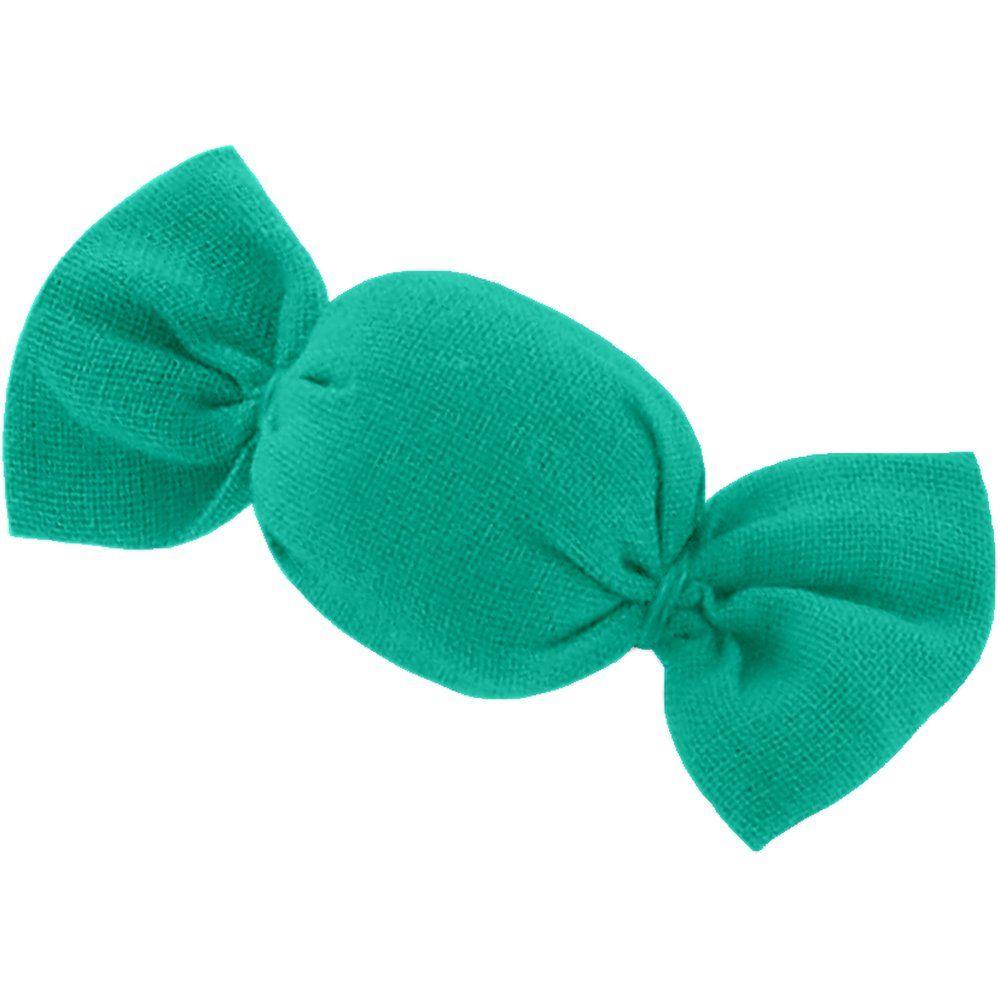 Mini sweet hairslide green laurel