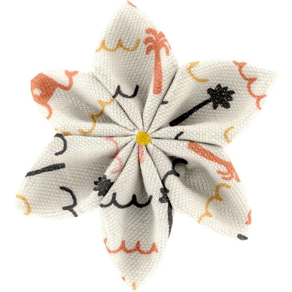 Barrette fleur étoile 4  copa-cabana