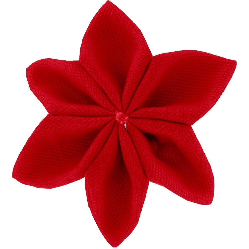 Star flower 4 hairslide