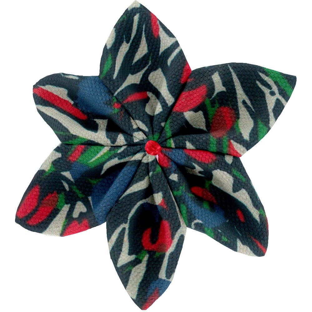 Star flower 4 hairslide  tulipes