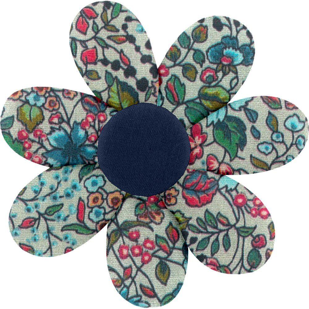 Fabrics flower hair clip flower mentholated