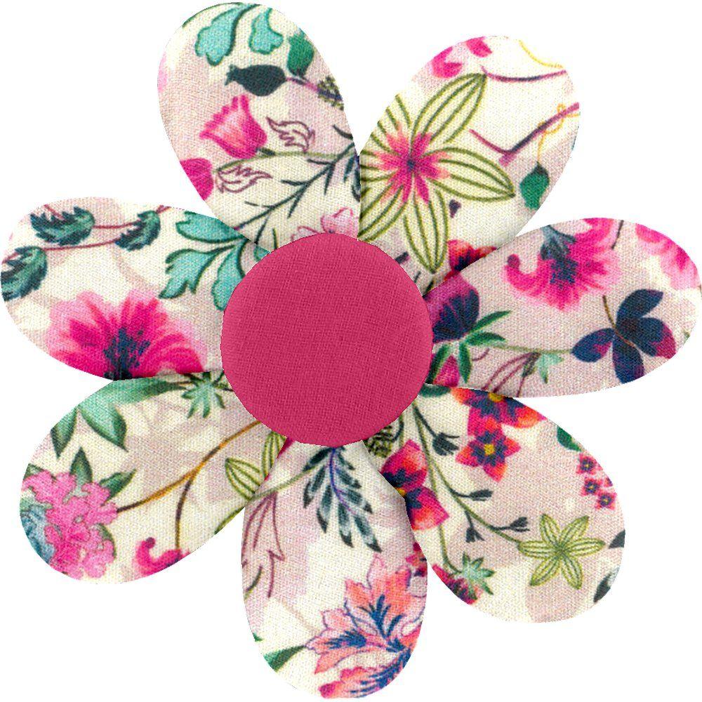 Fabrics flower hair clip spring