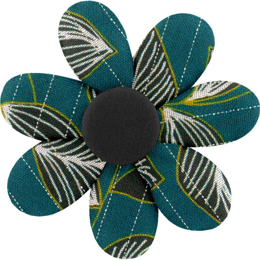 Fabrics flower hair clip   végétalis