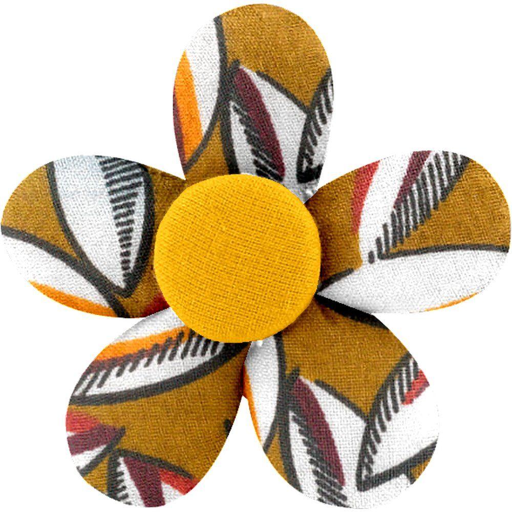 Petite barrette mini-fleur cabosses