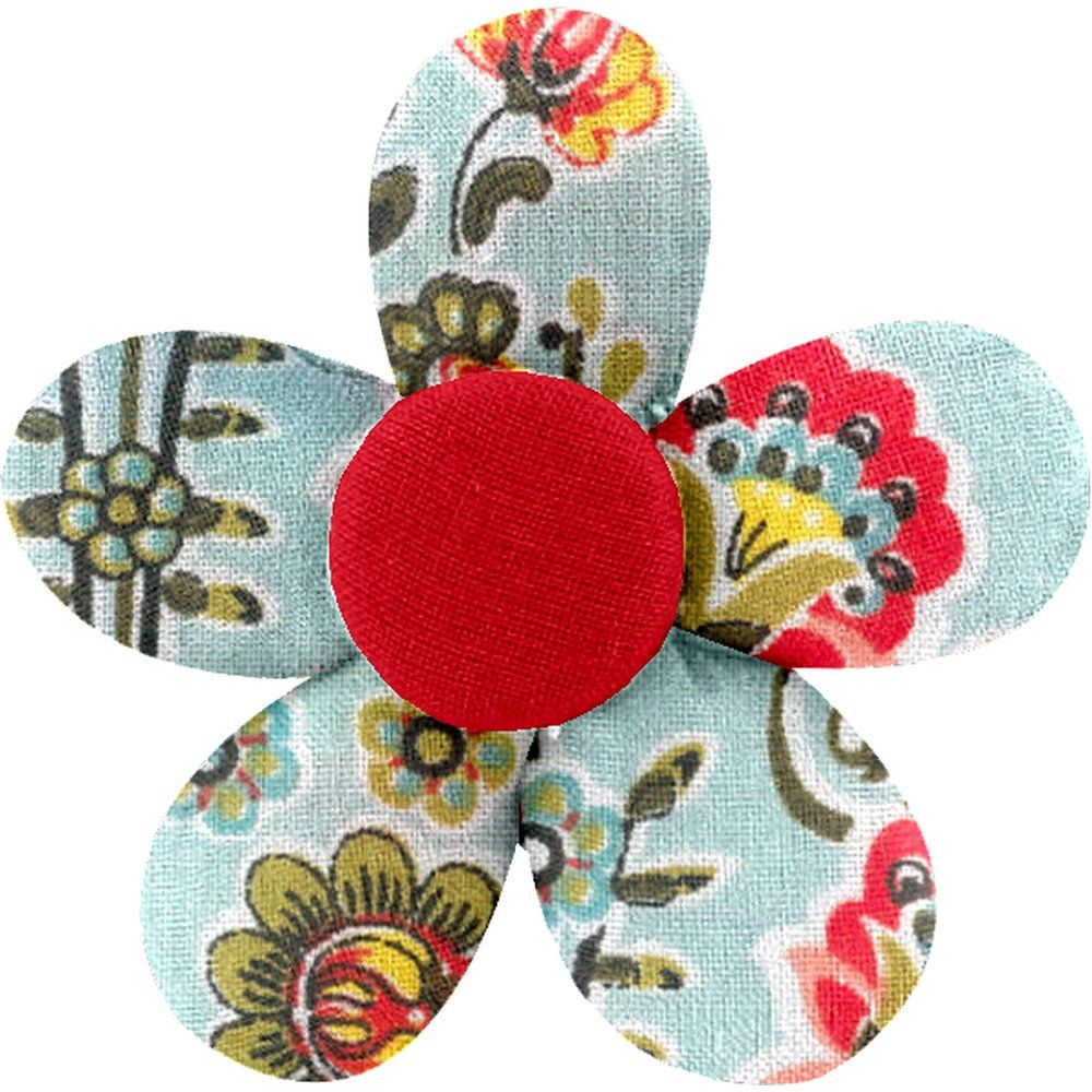 Petite barrette mini-fleur corolle - PPMC ac7431e75f1