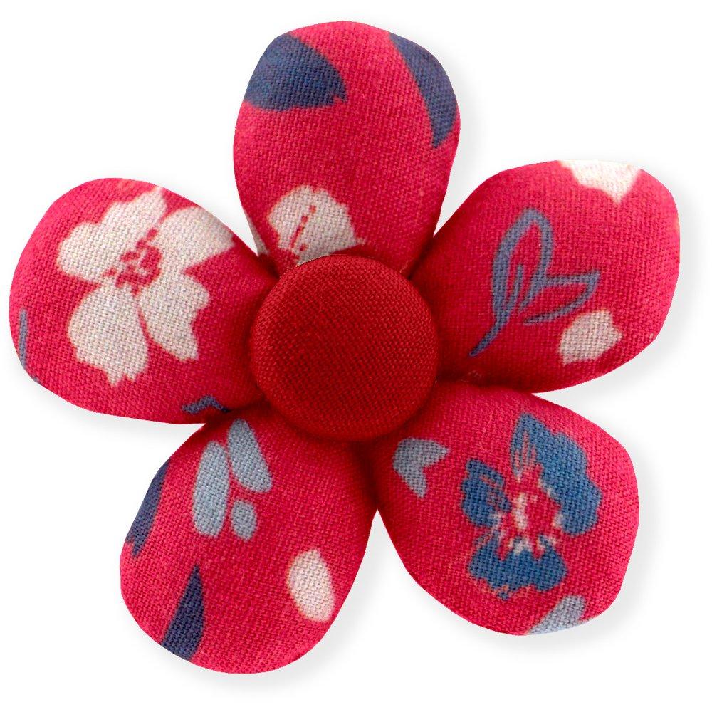Mini flower hair slide hanami