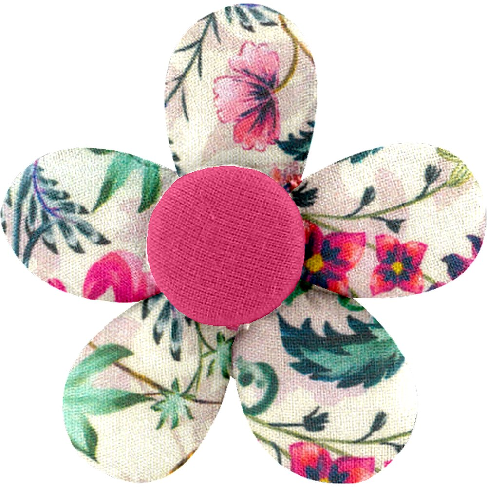 Petite barrette mini-fleur printanier - PPMC 6496693ba69