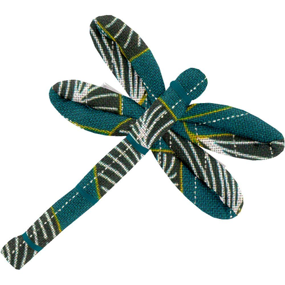 Dragonfly hair slide   végétalis